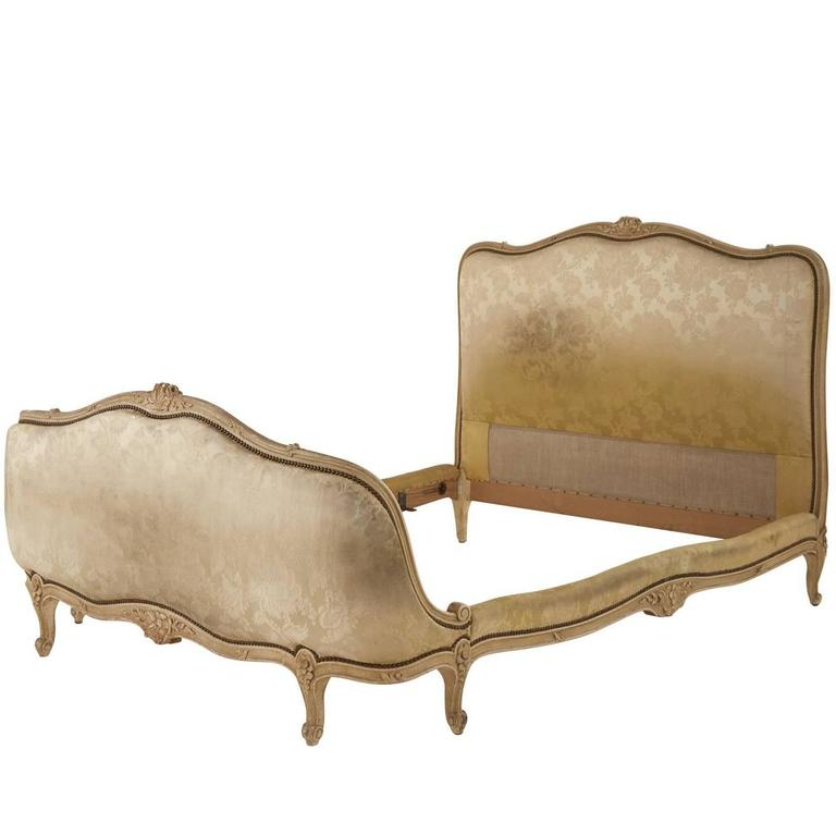 Vintage Cream French Bed At 1stdibs