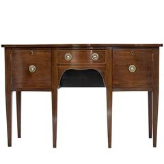 19th Century Mahogany Small Sideboard