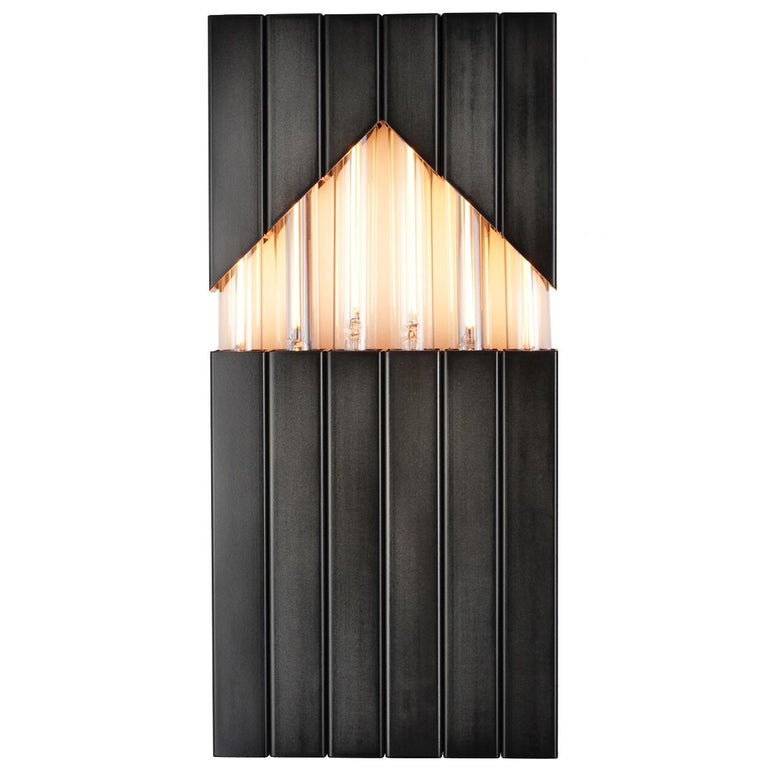 Daikon Dosi Sconce, Steel Lighting, Industrial Modern Sconce, Midcentury Light