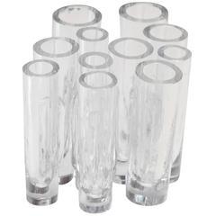 Barbini Cluster Vase, Signed