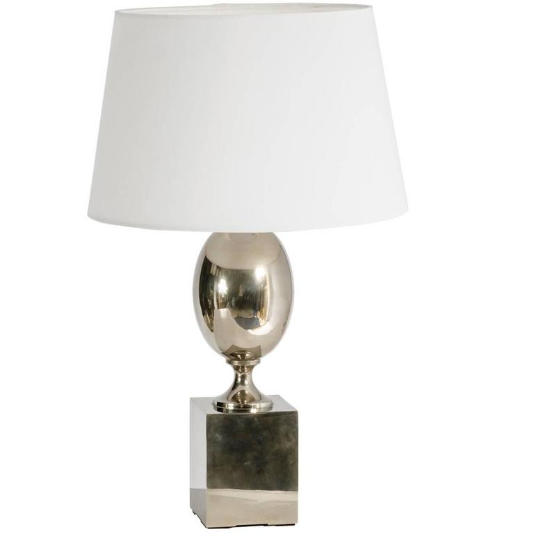Table Lamp by Jaqcues Barbier