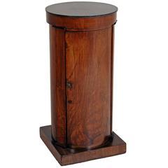 Biedermeier Cylinder-Shaped Cabinet, circa 1820