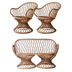 Set of Italian Armchairs
