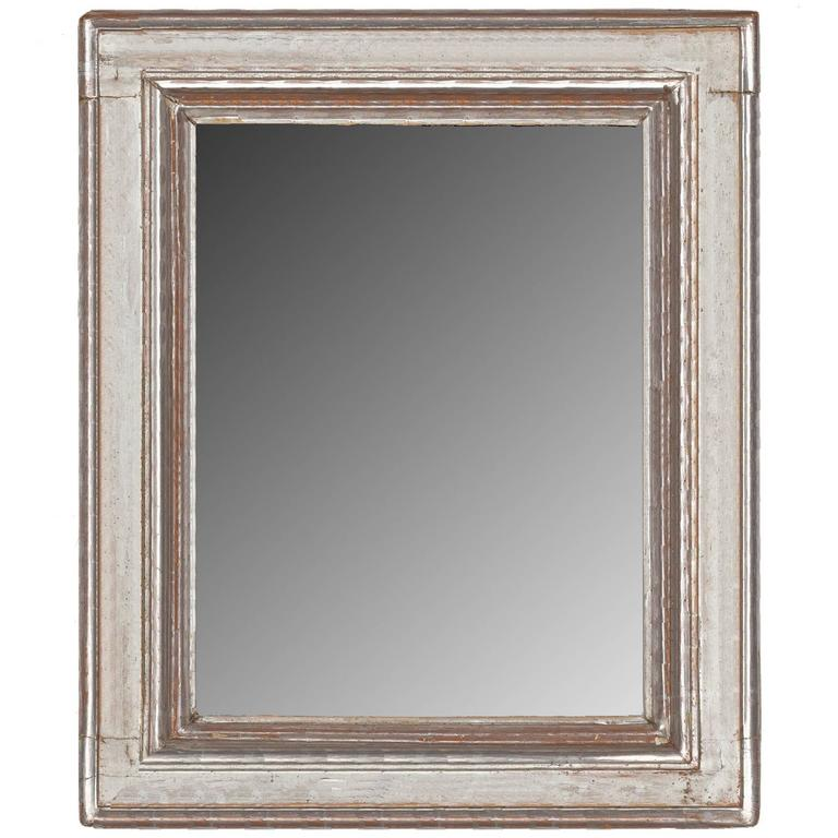 Italian Style Reverse Profile Mirror Frame For Sale