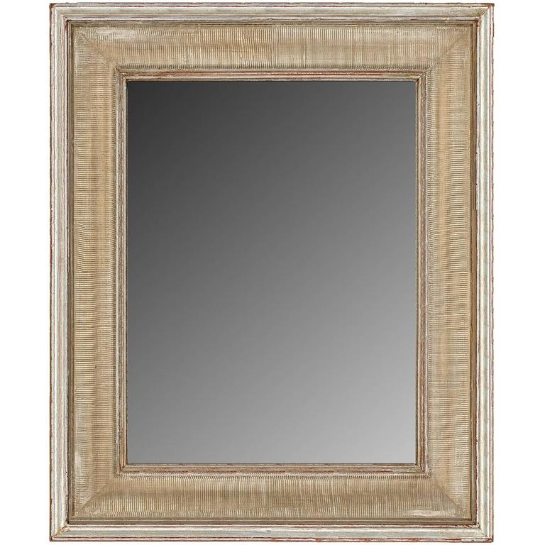 Mid-Century Modernist Style Gilt Mirror For Sale