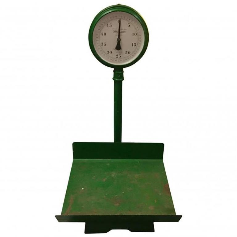 Antique Farm Stand Scale 1