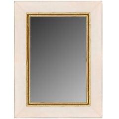 Contemporary Gilt and Lacquer Mirror