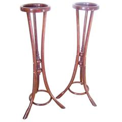 Two Flower Table Thonet Model nr.3, circa 1918