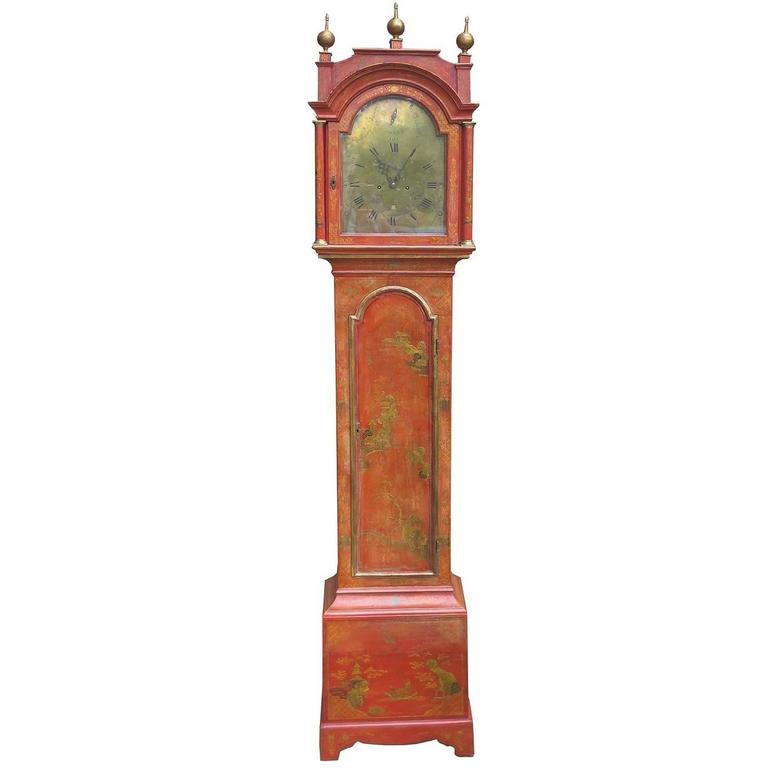 19th Century English Grandfather Clock in Knight, London