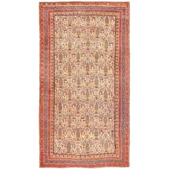 Large Antique Persian Qashqai Rug. Size: 12 ft 8 in x 24 ft (3.86 m x 7.32 m)