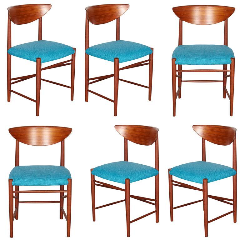 Teak Dining Chairs by Hvidt & Molgaard, Set of 6 1