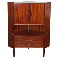 Rosewood Liquor Cabinet by Gunni Omann