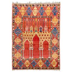 Reproduction of the Transylvanian Bistrita Six Column Rug