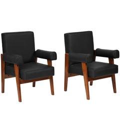 "Le Corbusier, Pierre Jeanneret ""Lawyer Chairs"""