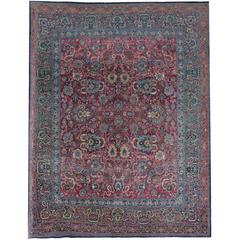 Antique Rugs, Persian Carpet from Khorrasan