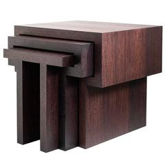 T Nesting Tables by Michael Boyd for PLANEfurniture