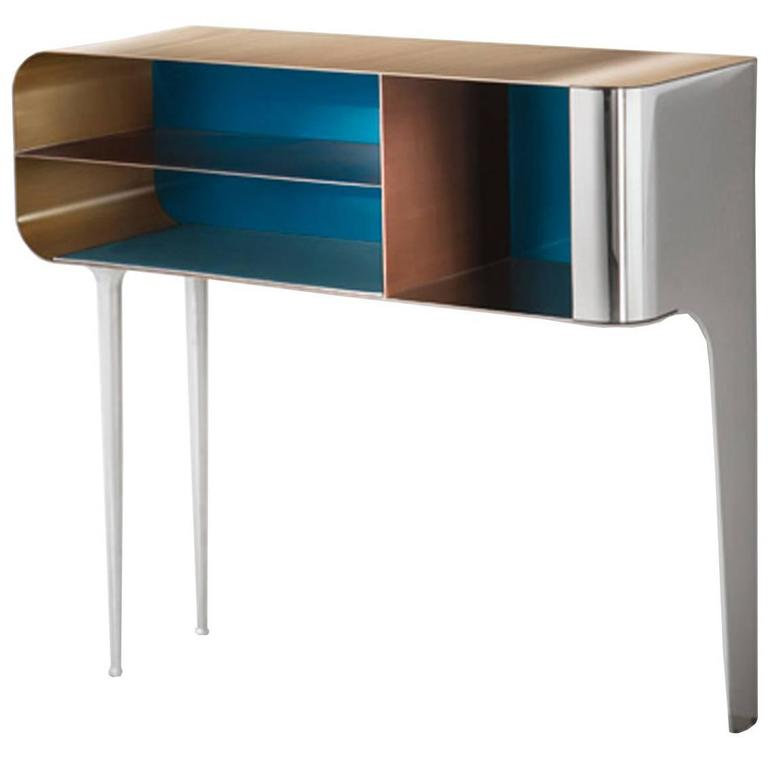 Solometallo Console By Nikita Bettoni For Decastelli For Sale