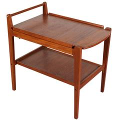 Danish Modern 1960s Teak Bar Cart