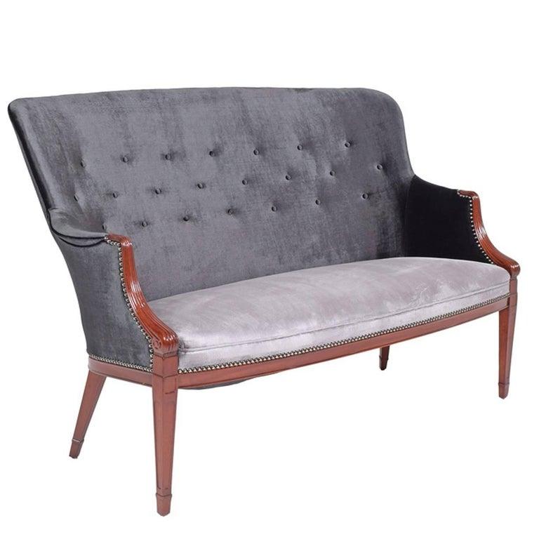 Frits Henningsen 1940s Settee For Sale