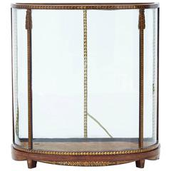 Early 19th Century Mahogany and Painted Decoration Display Case