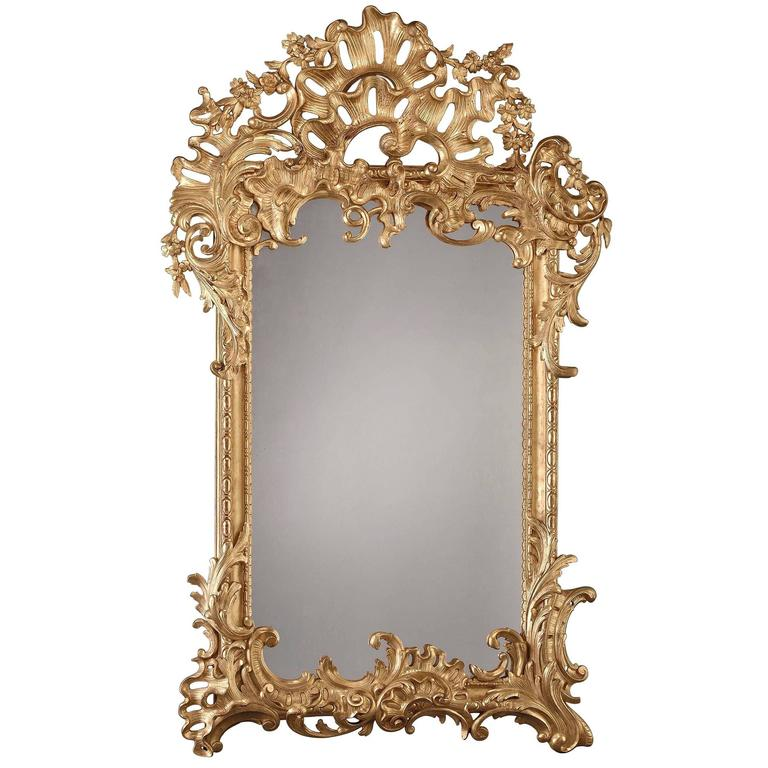 Grand Giltwood Mirror