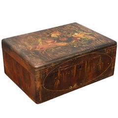 American Folk Art Painted Box