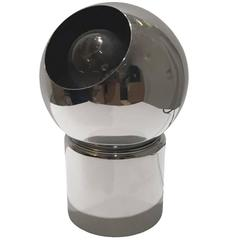 1970s Chrome Eyeball Accent Lamp on Magnetic Base