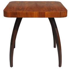 20th Century Walnut Table by Jindrich Halabala