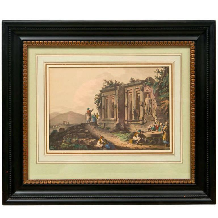 Neoclassical image of India For Sale