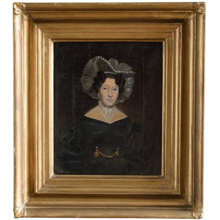 19th Century Portrait of Mrs Taylor