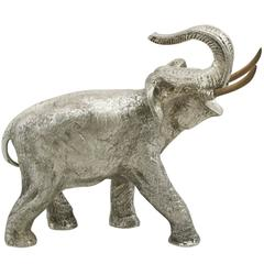Spanish Silver Model of an Elephant