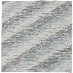 Contemporary Italian 'Intreccio Diagonale' Carpet