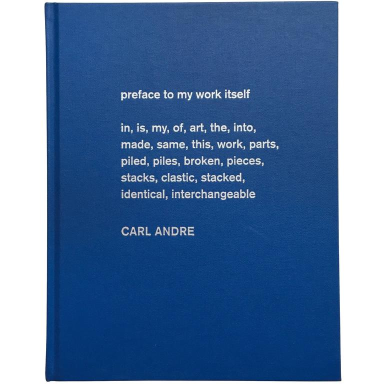 Sculpture as Place, Carl Andre For Sale