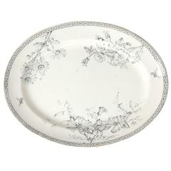 19th Century Wedgewood Oval Ceramic Charger