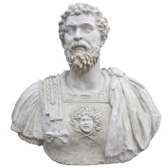 Marco Aurelio Plaster Sculpture