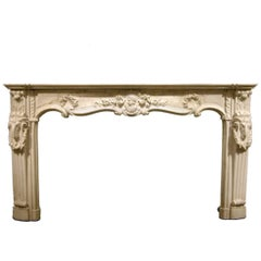 18th Century English Marble Mantel