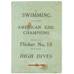 Swimming Flicker Book
