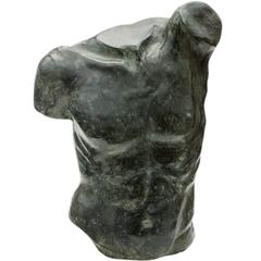 Fauno Torso Bronze Sculpture