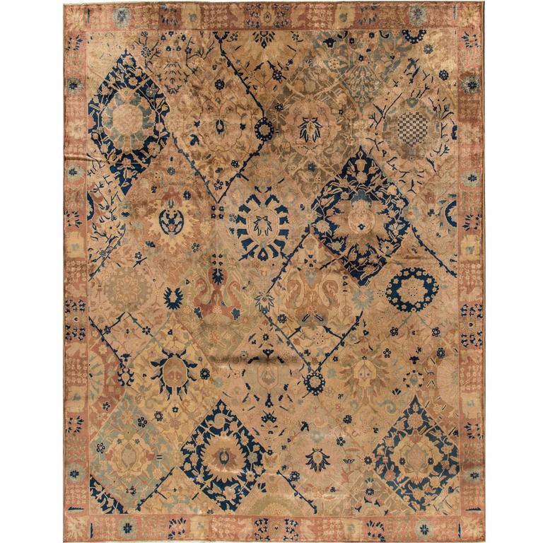 Antique Tabriz Rug For Sale At 1stdibs