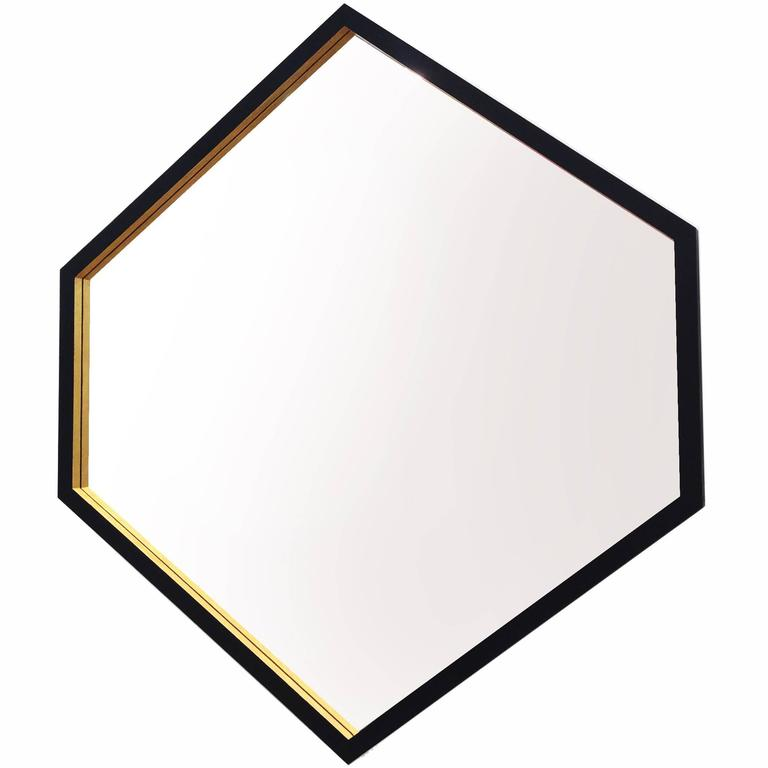 "Contemporary ""Hex Mirror"" by Alex Drew & No One, 2016"