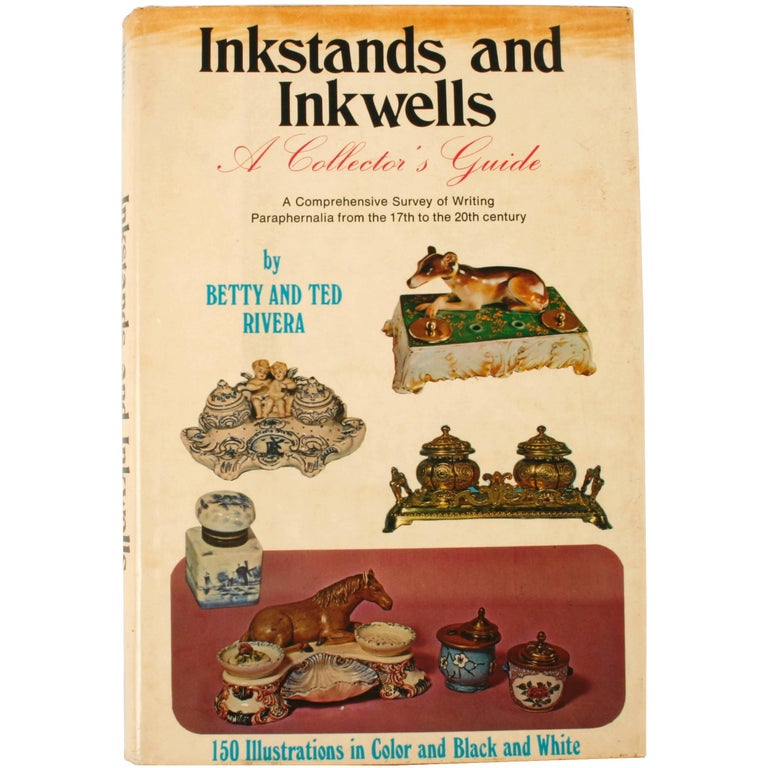 Inkstands and Inkwells, A Collector's Guide, First Edition For Sale