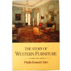 """Story of Western Furniture"" Book by Phyllis Oats, First Edition"