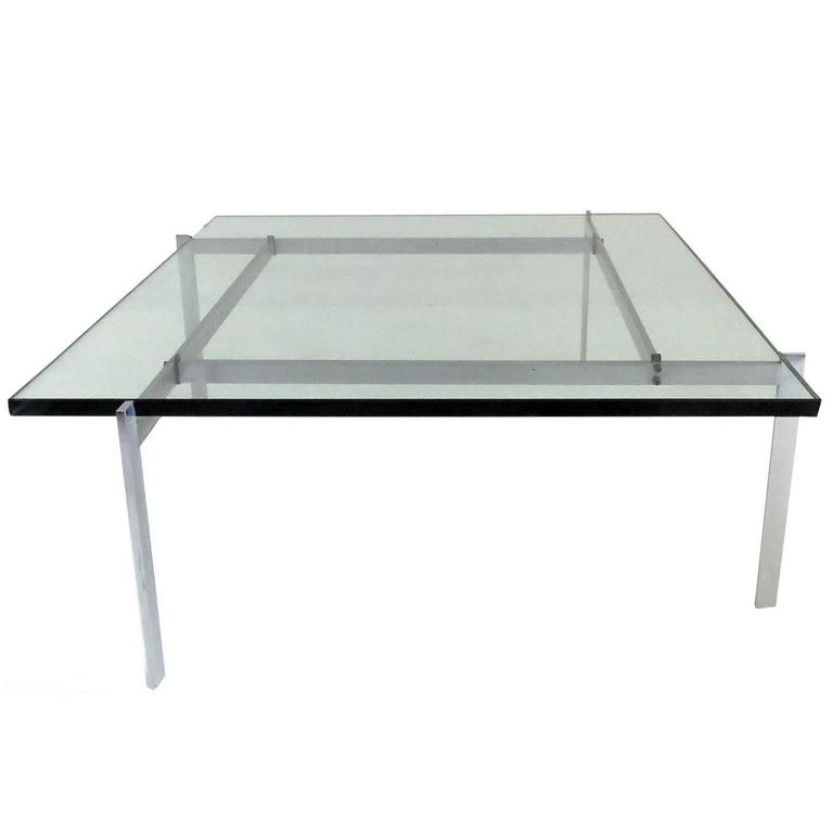 Poul Kjaerholm PK61 for E. Kold Christensen Coffee Table