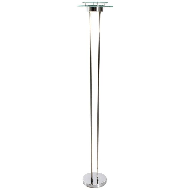 Chrome modernist floor lamp circa 1970s for sale at 1stdibs chrome modernist floor lamp circa 1970s for sale mozeypictures Gallery