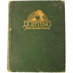 Lighting from Concealed Sources by J.L. Stair, Rare First Edition