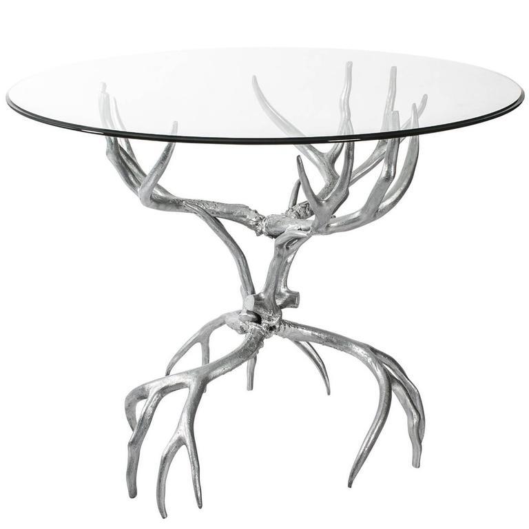 Arthur Court Antler Table For Sale