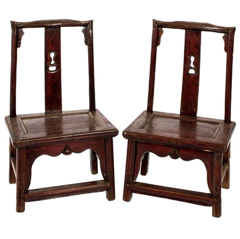 Chinese childs chairs for sale at 1stdibs for Asian chairs for sale