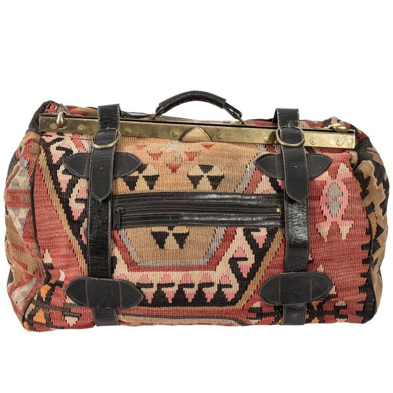 Geometric Carpet Bag