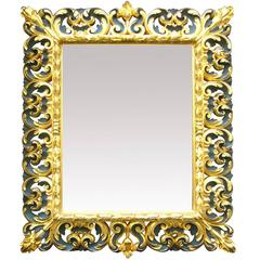 Barocco Carved Wood Mirror