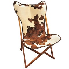 Cowhide Tripolina Chair